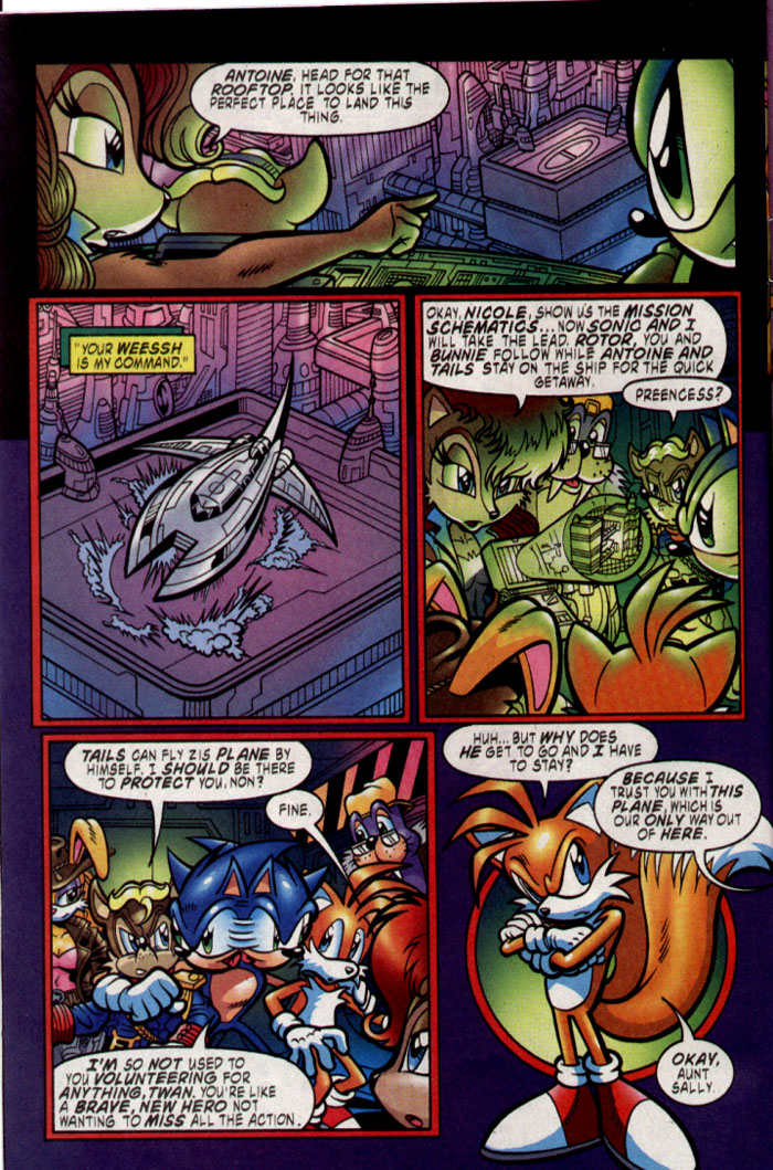 Sonic - Archie Adventure Series August 2004 Page 4