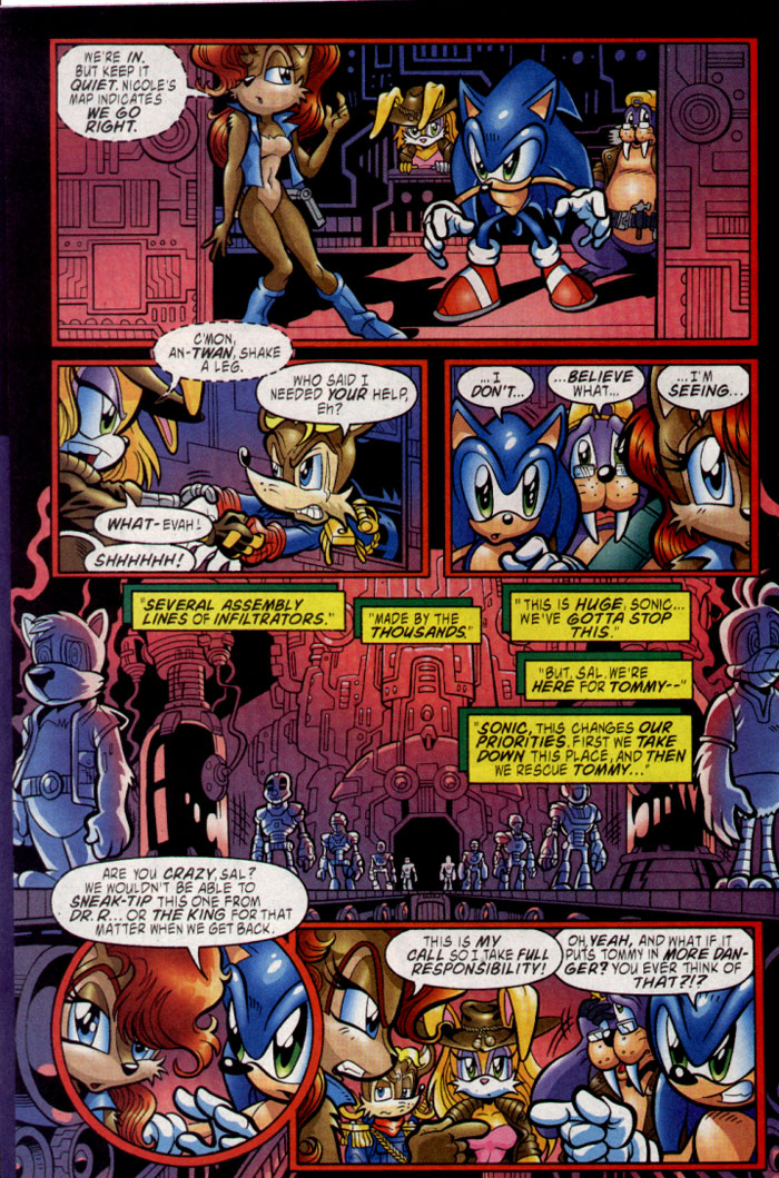 Sonic - Archie Adventure Series August 2004 Page 6