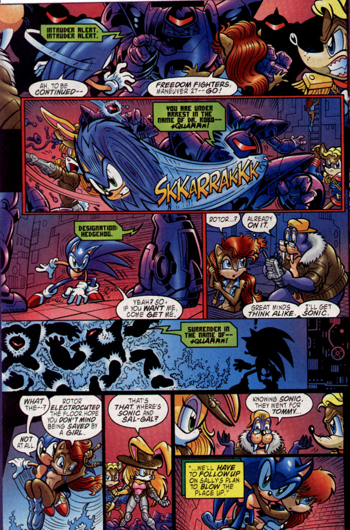 Sonic - Archie Adventure Series August 2004 Page 7