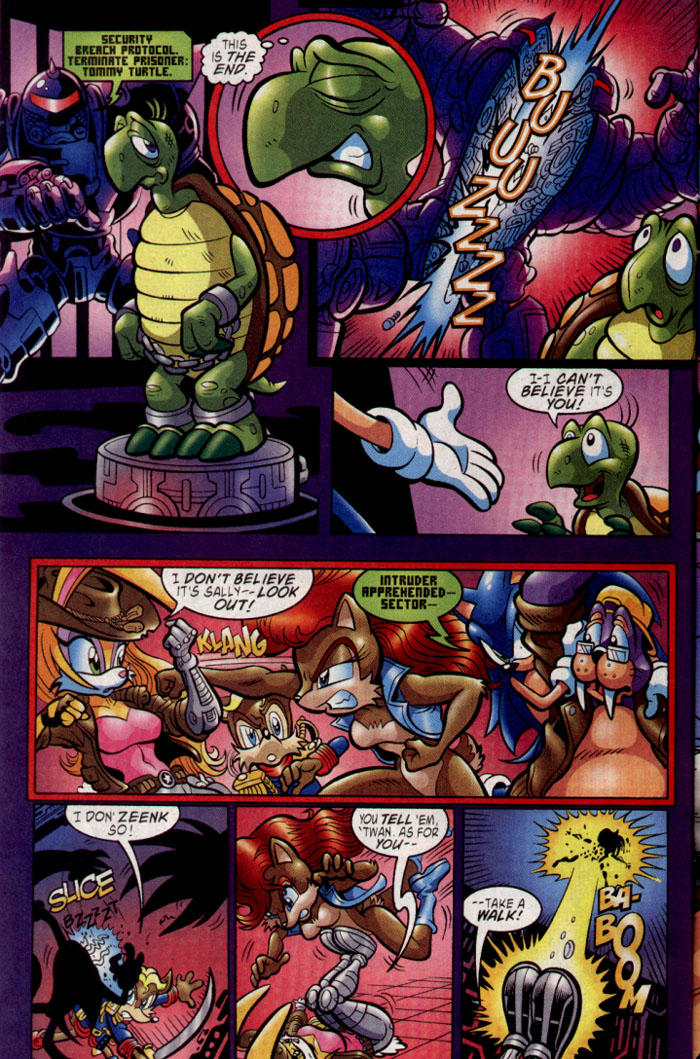 Sonic - Archie Adventure Series August 2004 Page 9