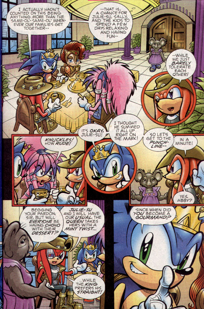 Sonic - Archie Adventure Series September 2004 Page 22
