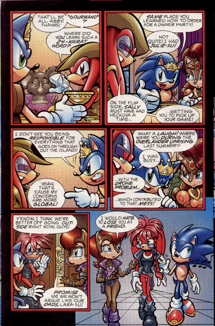 Sonic - Archie Adventure Series September 2004 Page 23