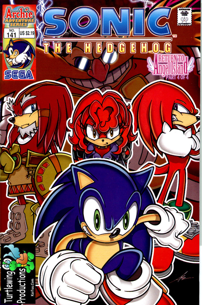 Sonic - Archie Adventure Series December 2004 Comic cover page
