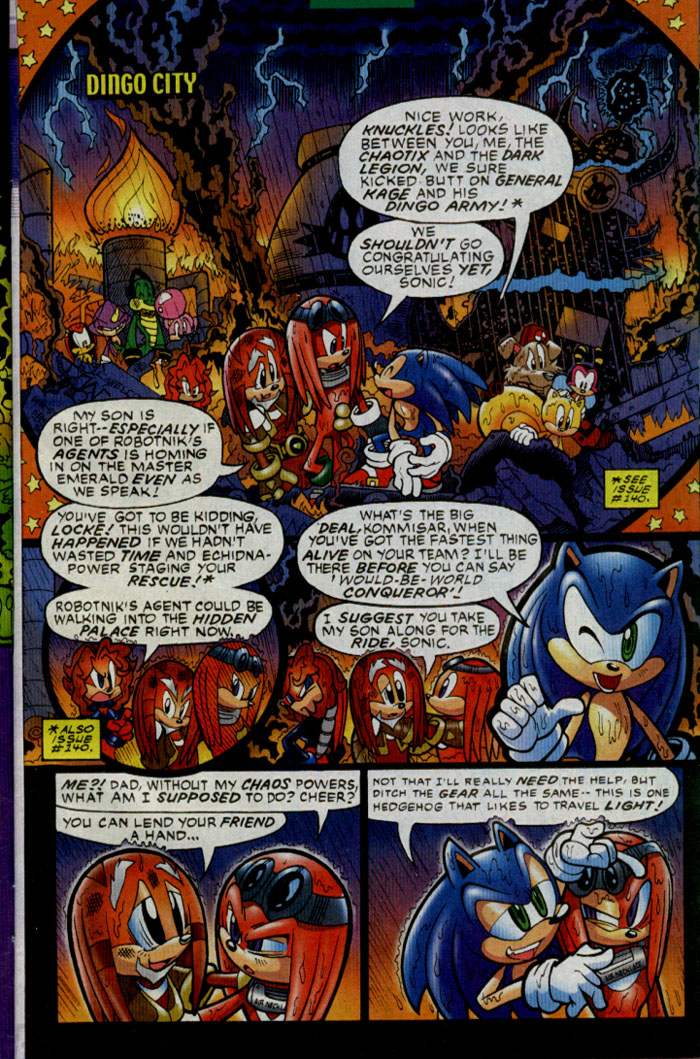 Sonic - Archie Adventure Series December 2004 Page 3