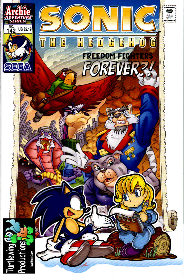 Sonic - Archie Adventure Series January 2005 Comic cover page