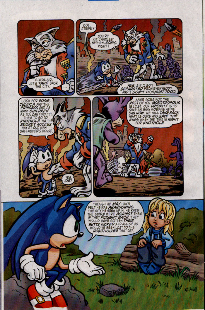Sonic - Archie Adventure Series January 2005 Page 7