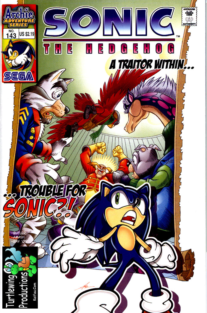 Sonic - Archie Adventure Series February 2005 Cover Page