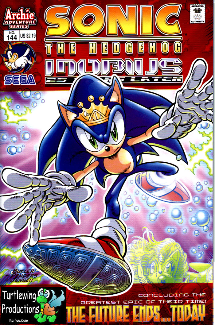 Sonic - Archie Adventure Series February 2005 Comic cover page