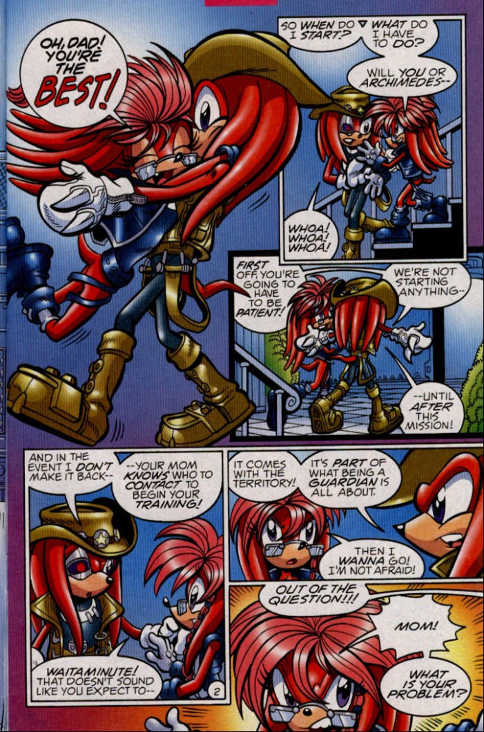 Sonic - Archie Adventure Series February 2005 Page 3
