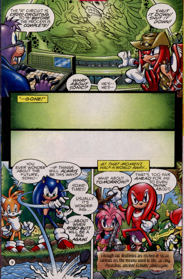 Sonic - Archie Adventure Series February 2005 Page 10