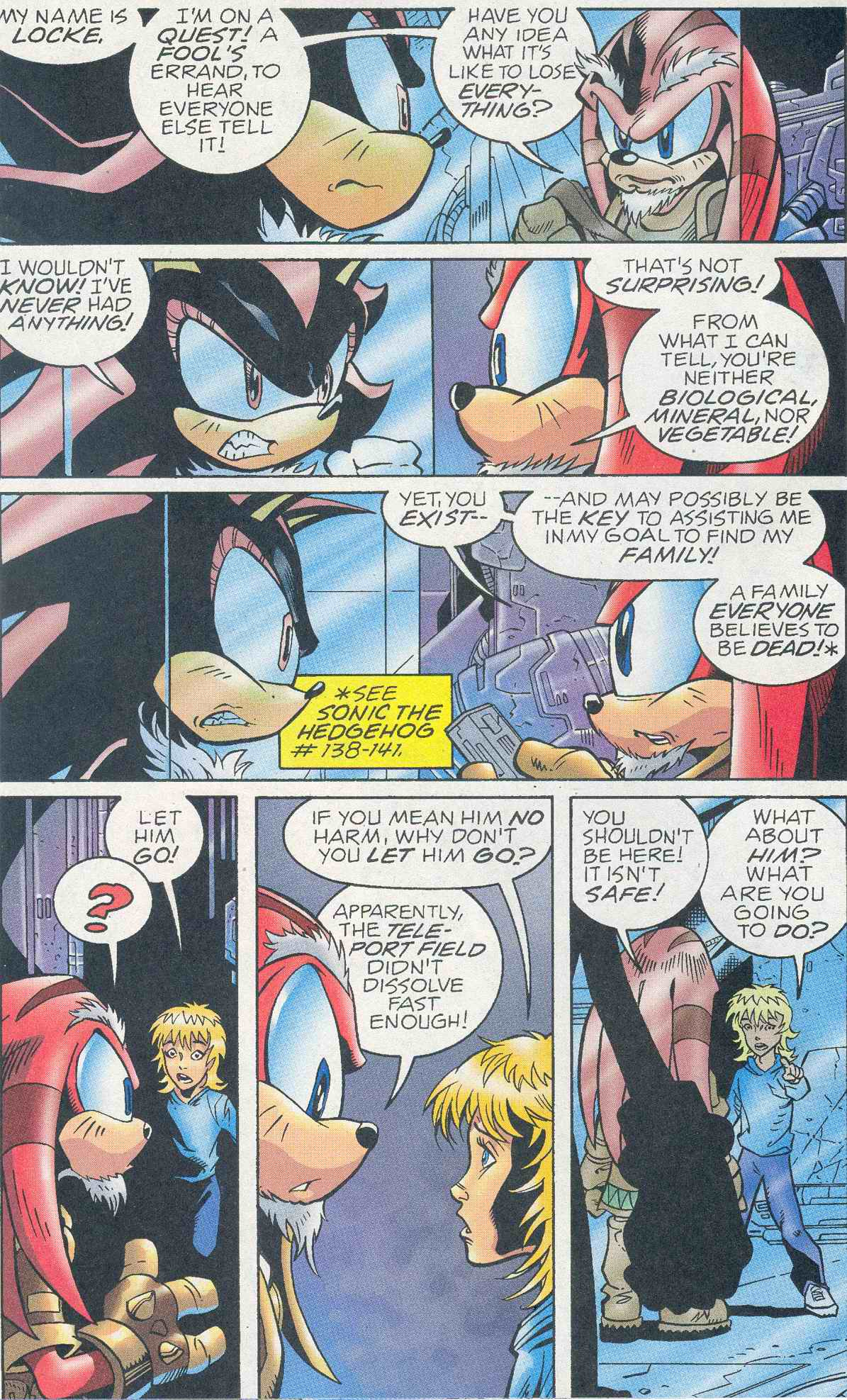 Sonic - Archie Adventure Series March 2005 Page 7