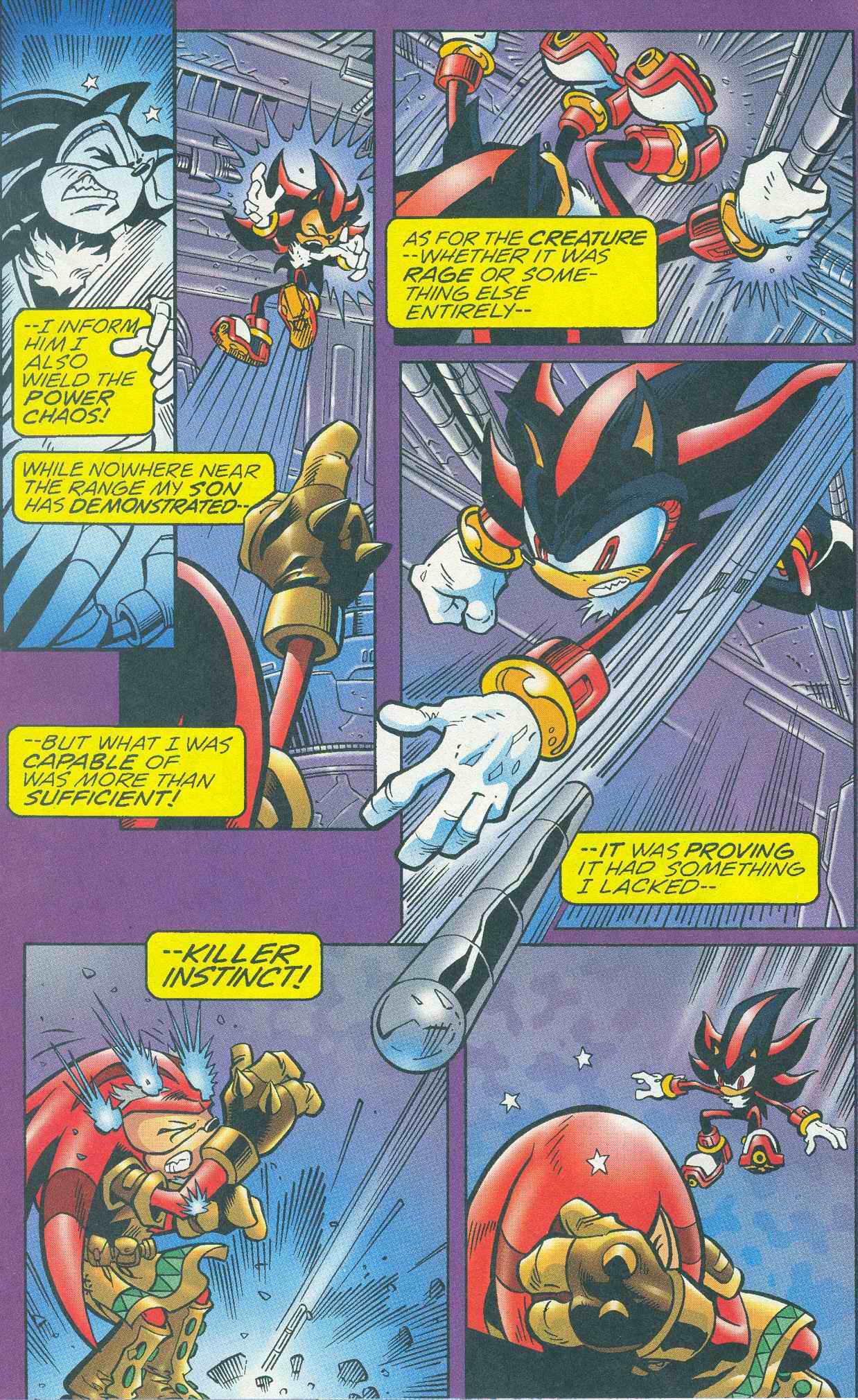 Sonic - Archie Adventure Series March 2005 Page 9