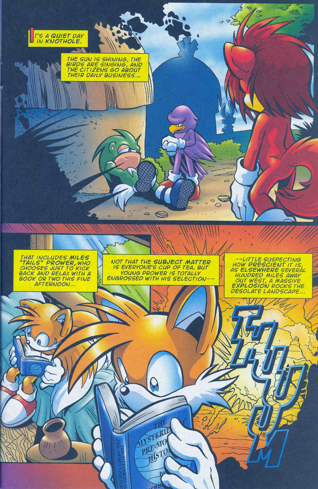 Sonic - Archie Adventure Series March 2005 Page 16