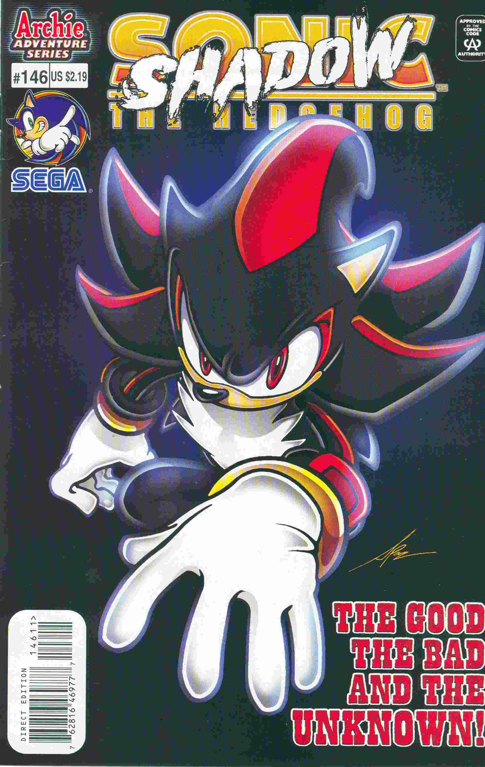 Sonic - Archie Adventure Series May 2005 Comic cover page