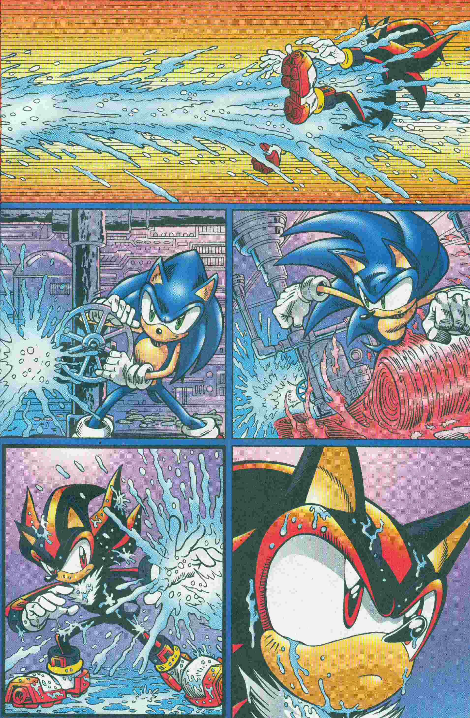 Sonic - Archie Adventure Series May 2005 Page 3