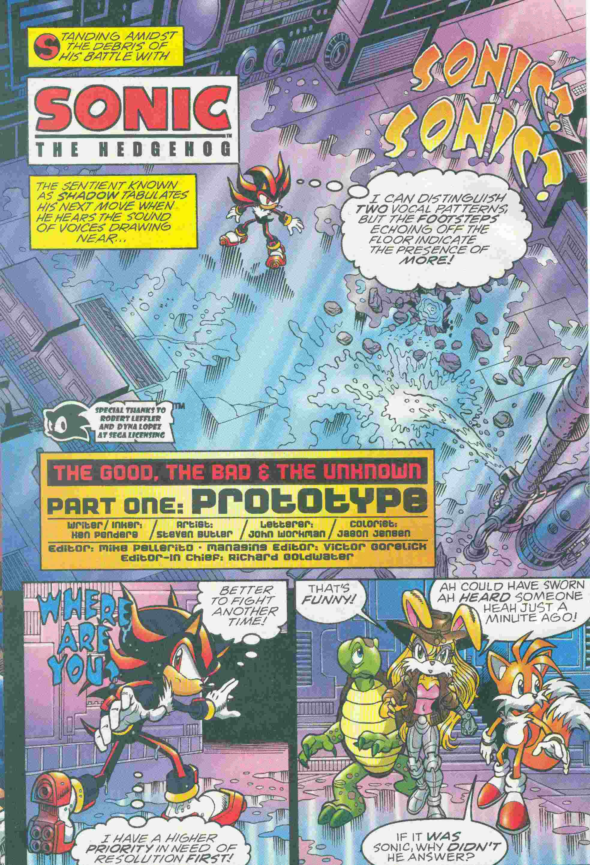 Sonic - Archie Adventure Series May 2005 Page 4