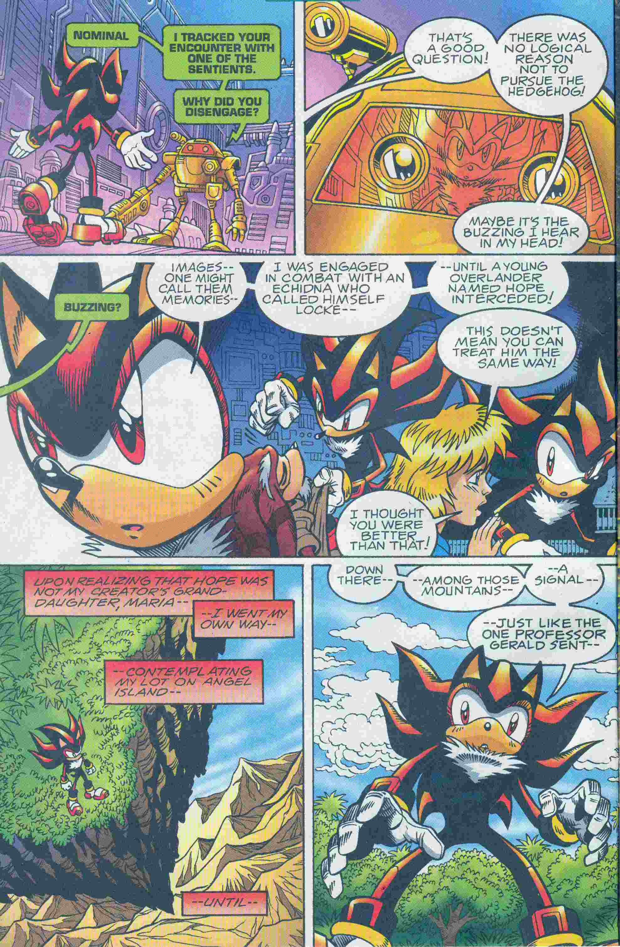 Sonic - Archie Adventure Series May 2005 Page 6