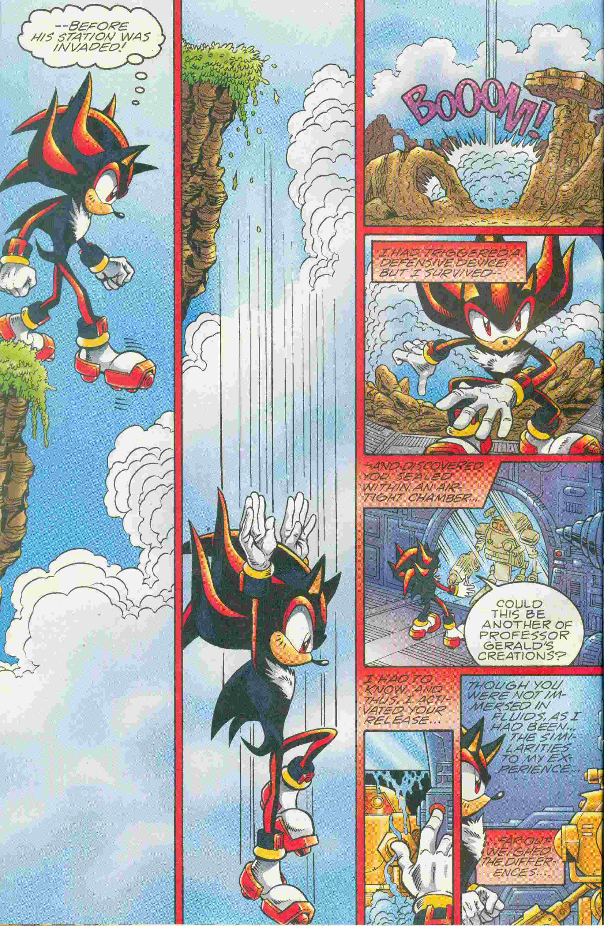 Sonic - Archie Adventure Series May 2005 Page 7