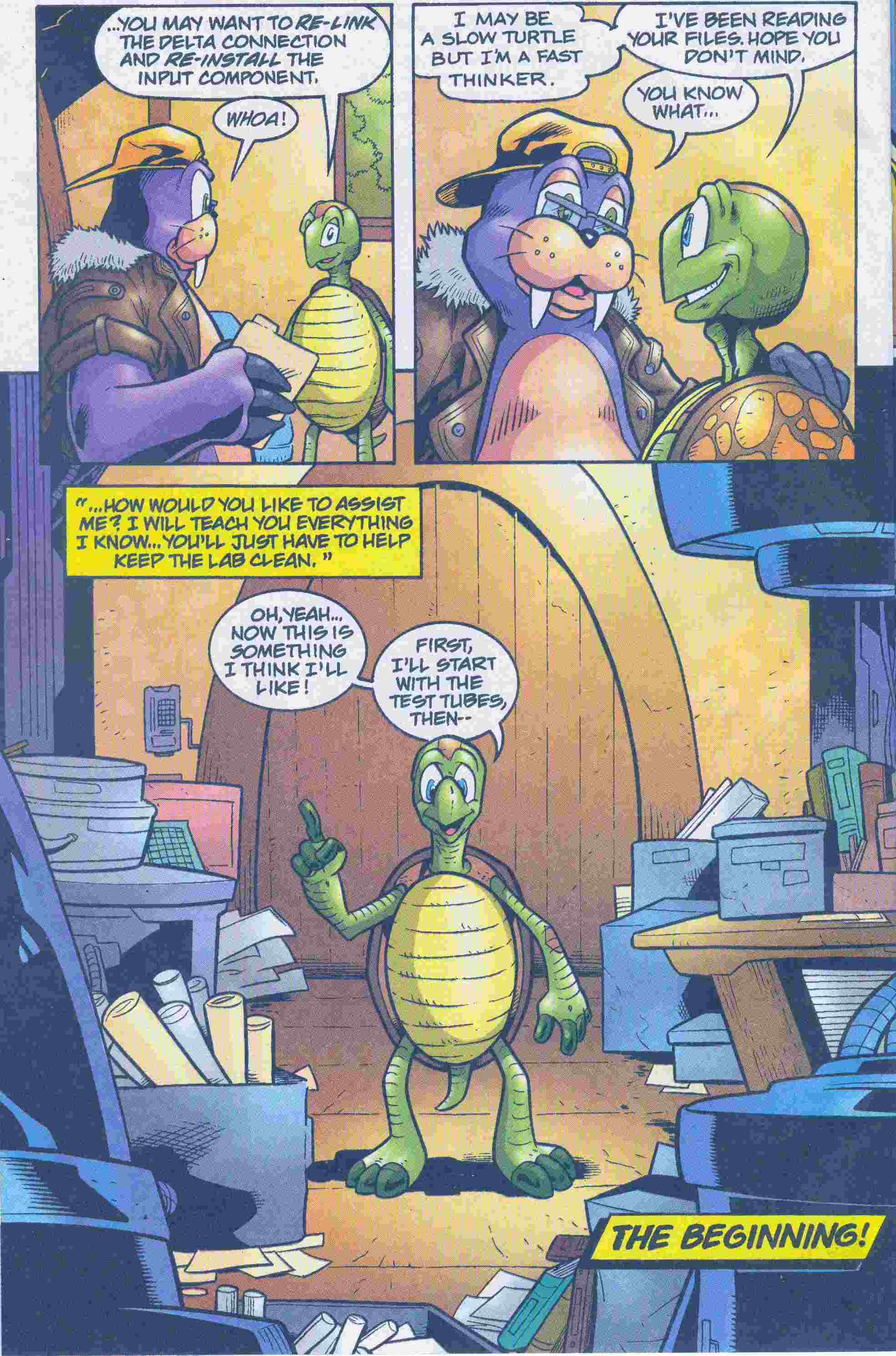 Sonic - Archie Adventure Series May 2005 Page 17