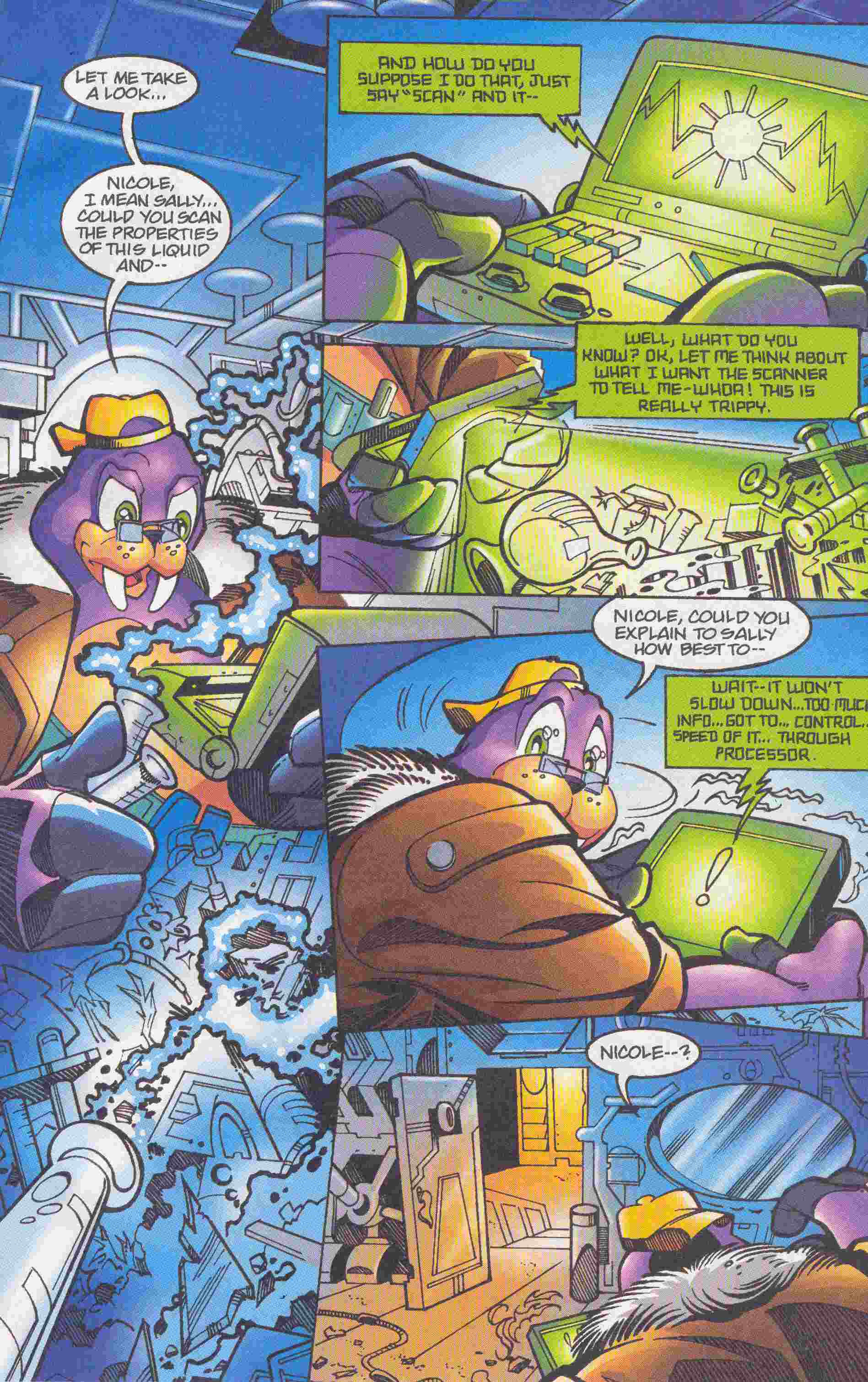 Sonic - Archie Adventure Series May 2005 Page 21