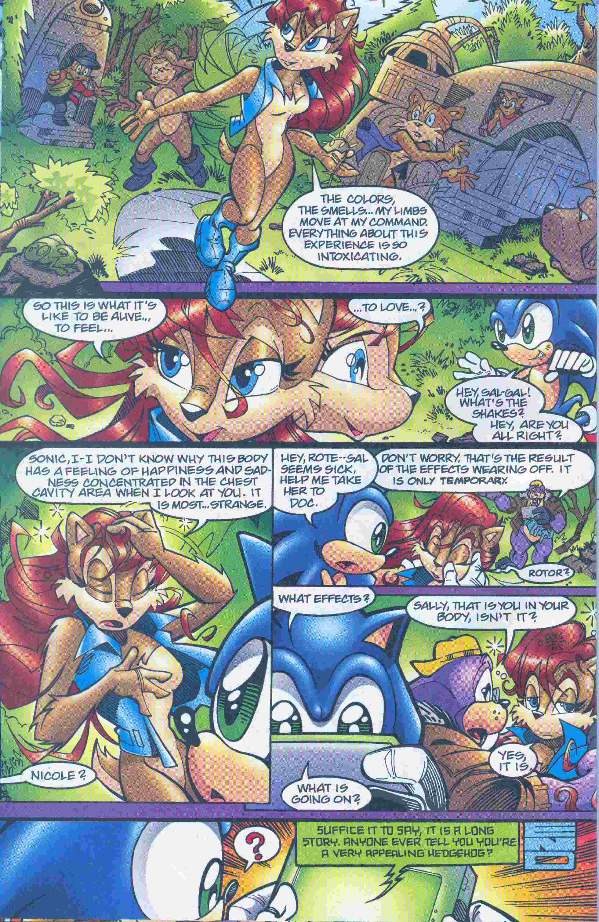 Sonic - Archie Adventure Series May 2005 Page 22
