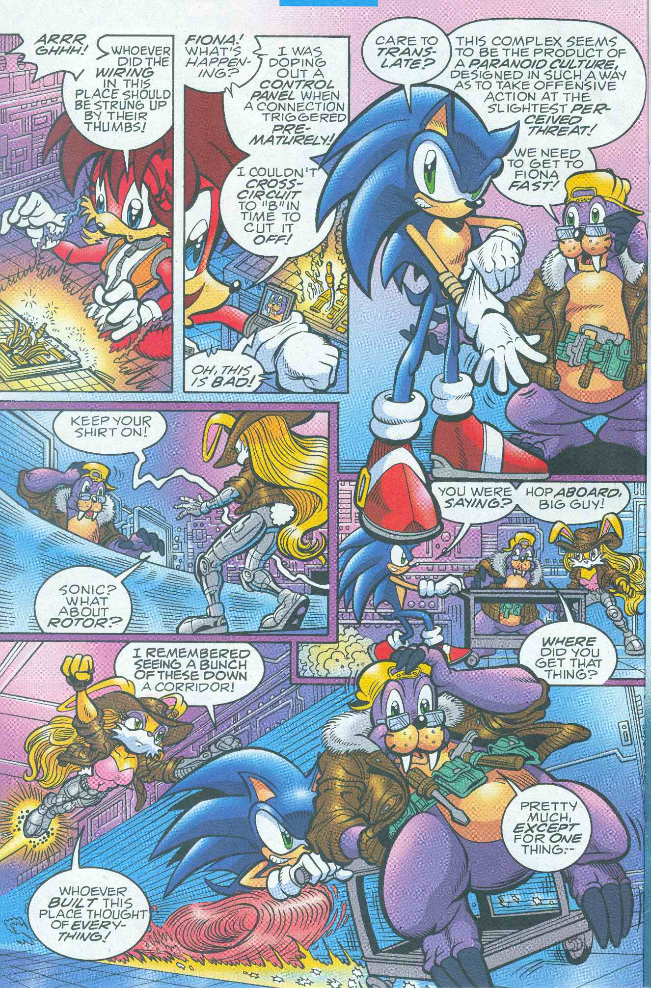 Sonic - Archie Adventure Series May 2005 Page 04