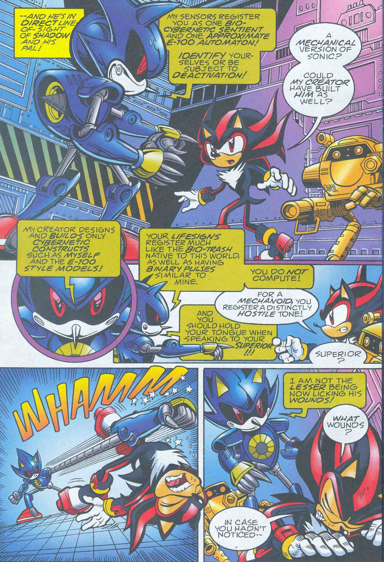 Sonic - Archie Adventure Series May 2005 Page 06