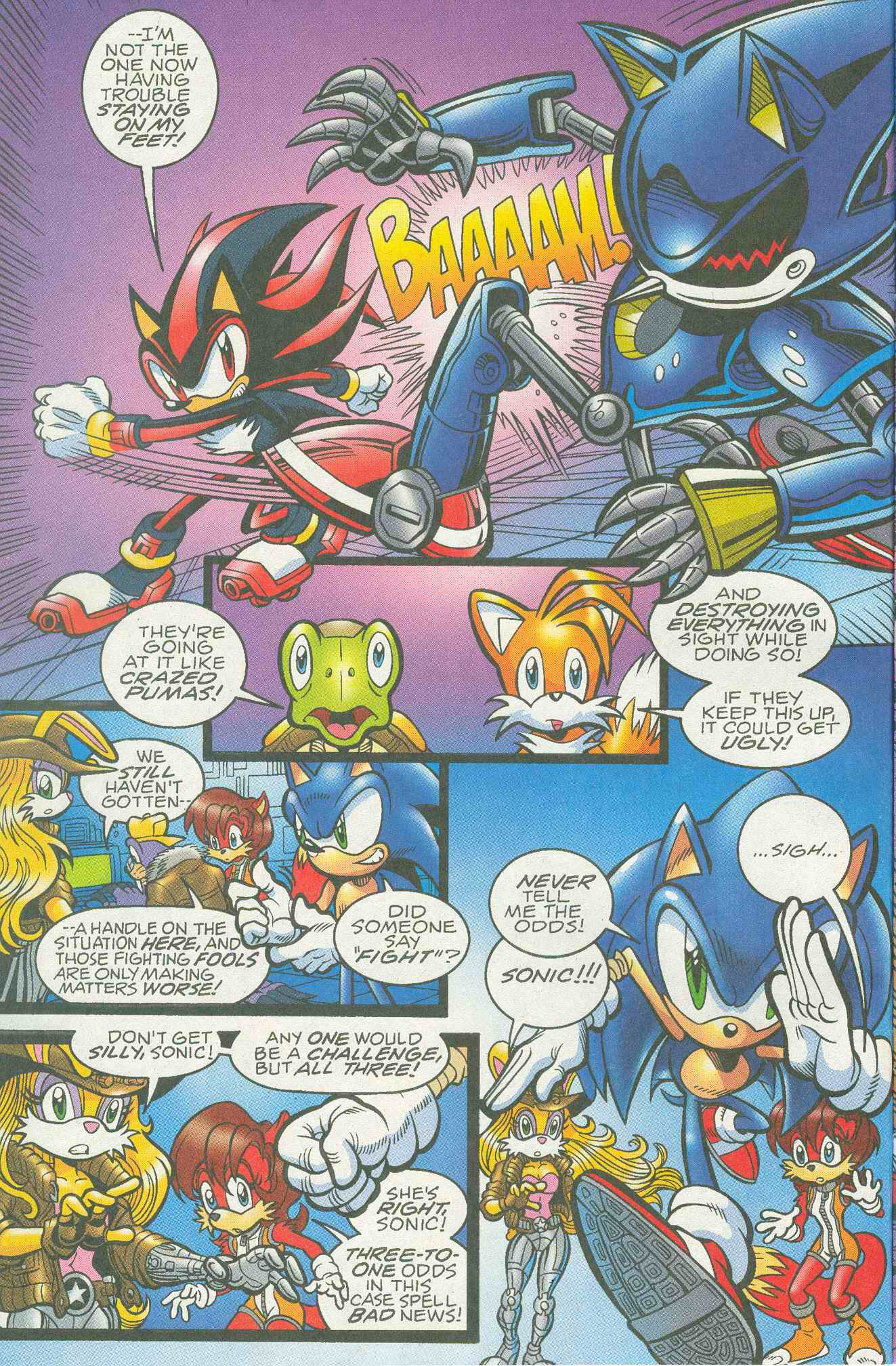 Sonic - Archie Adventure Series May 2005 Page 07