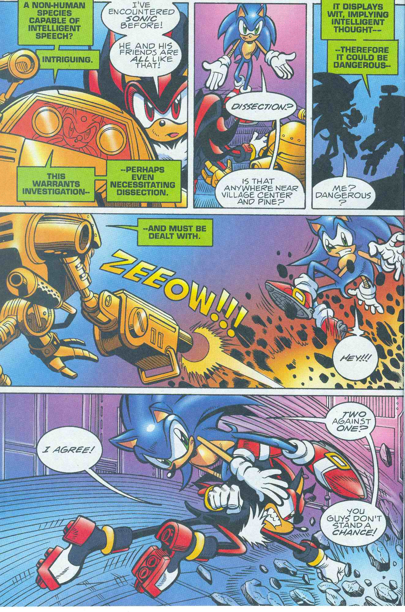 Sonic - Archie Adventure Series May 2005 Page 09