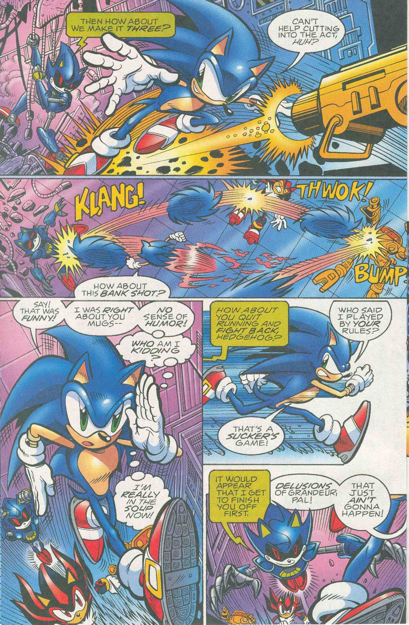 Sonic - Archie Adventure Series May 2005 Page 10