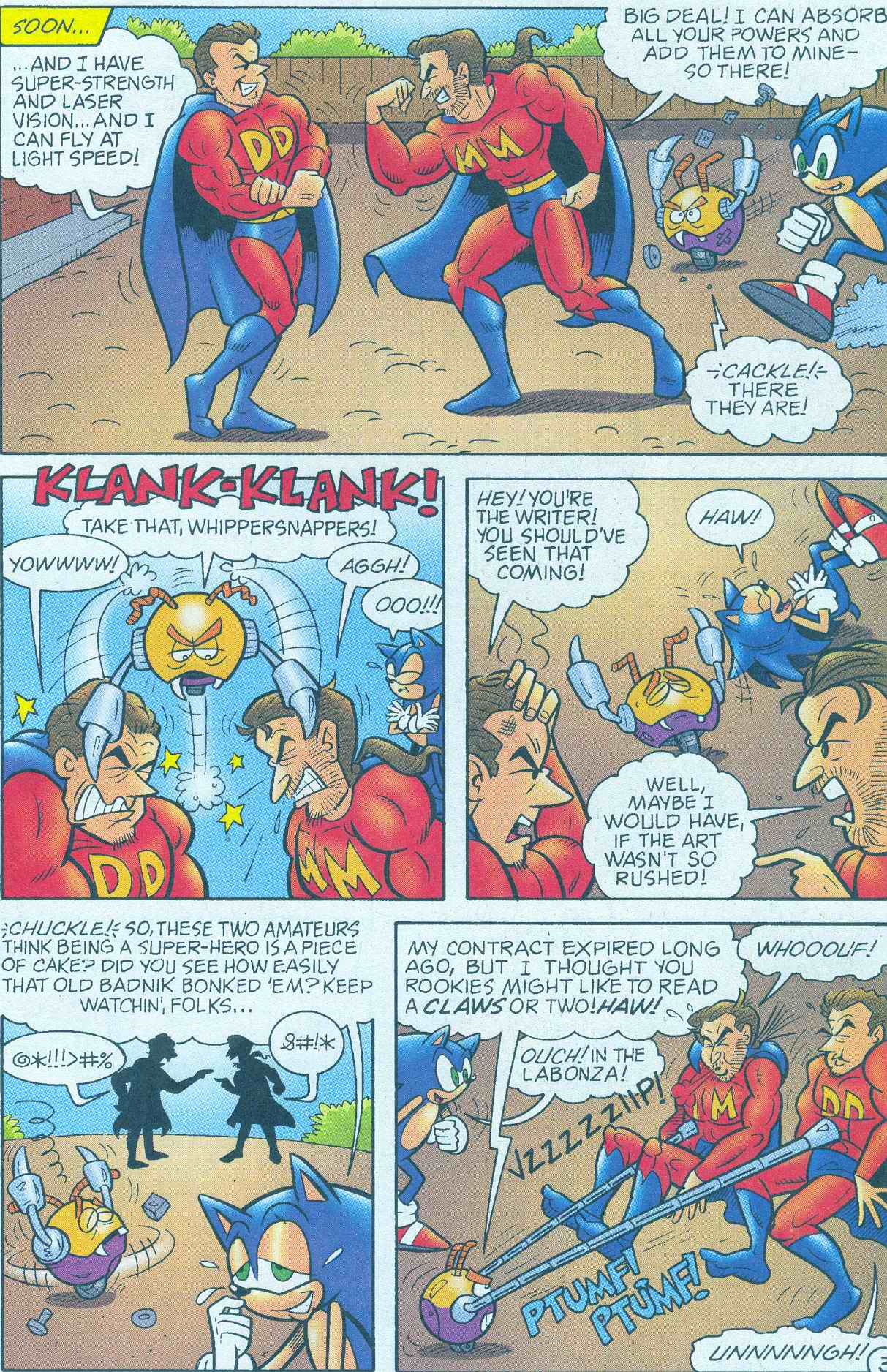 Sonic - Archie Adventure Series May 2005 Page 15
