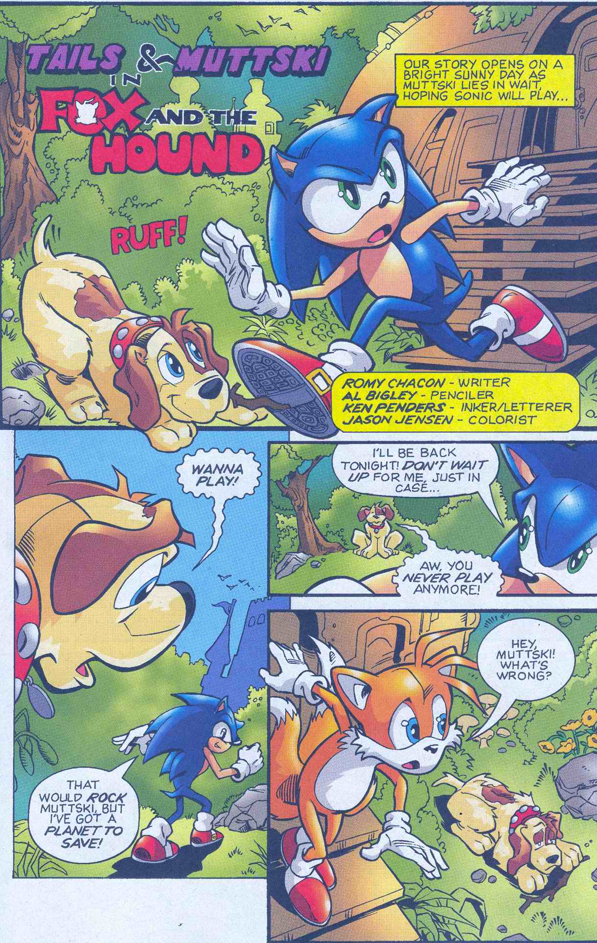 Sonic - Archie Adventure Series May 2005 Page 18