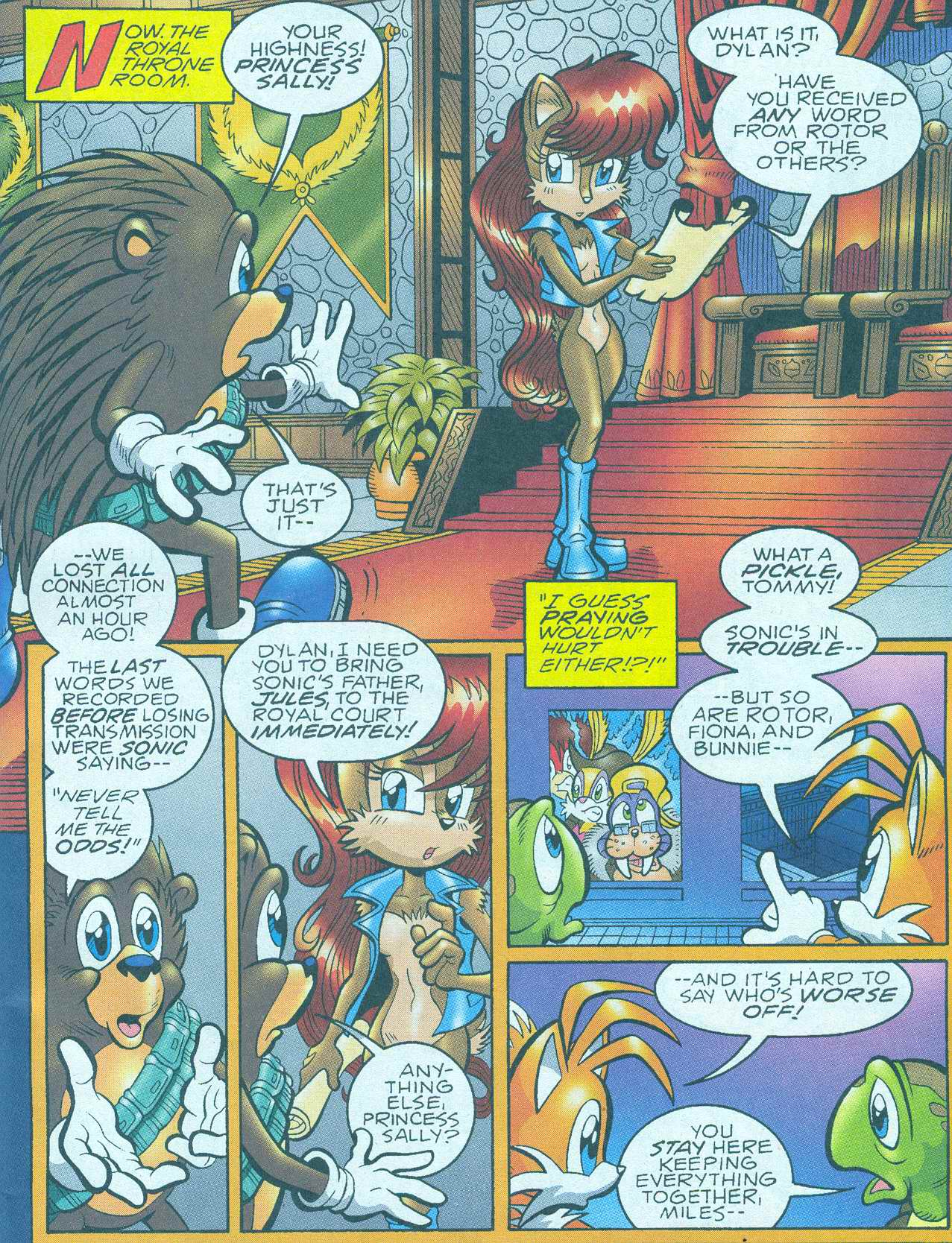 Sonic - Archie Adventure Series June 2005 Page 01
