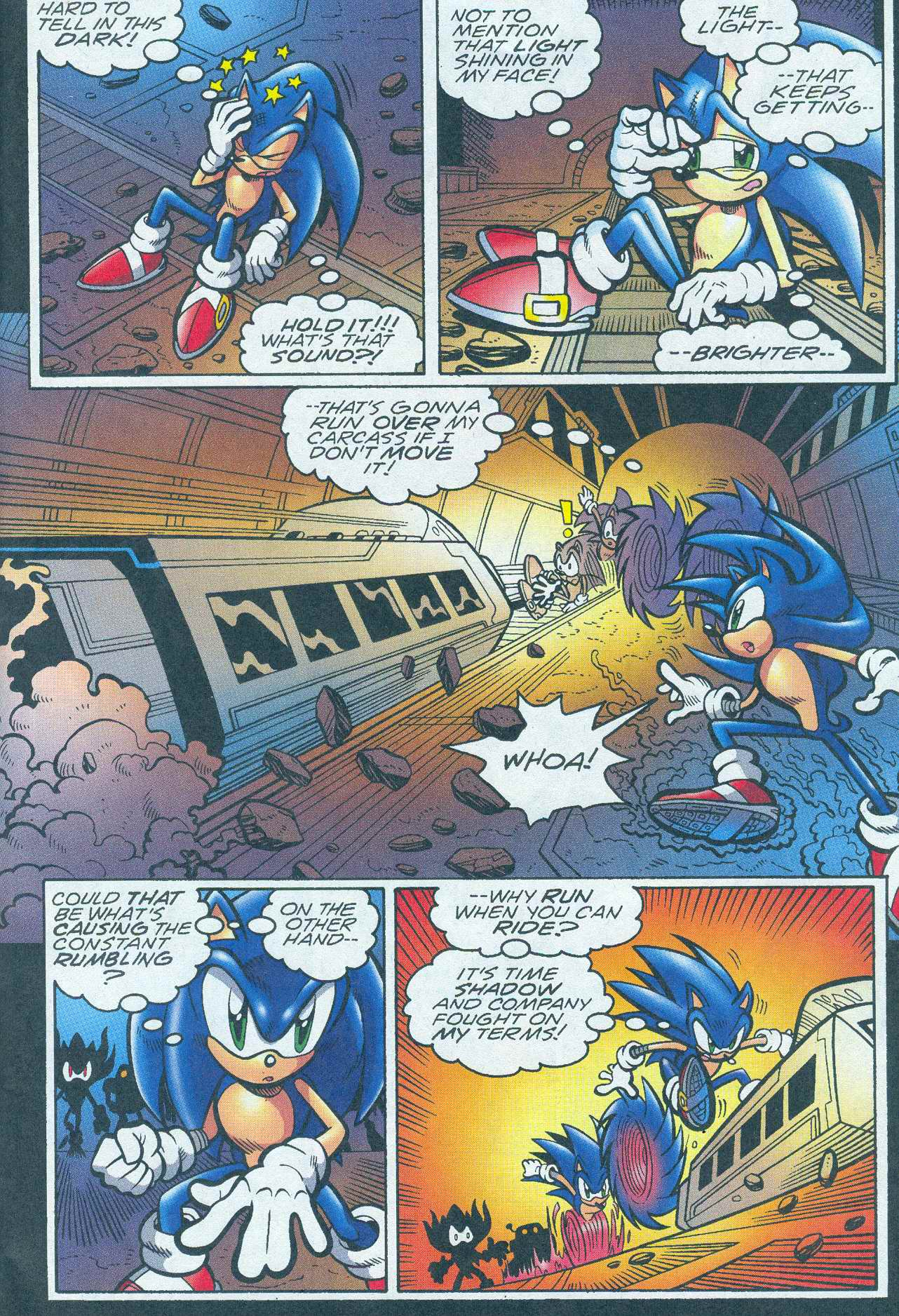 Sonic - Archie Adventure Series June 2005 Page 03