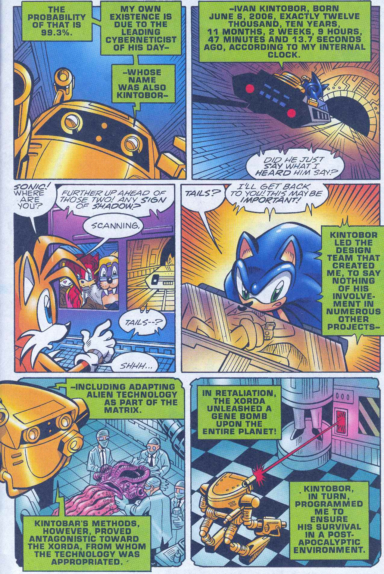 Sonic - Archie Adventure Series June 2005 Page 07