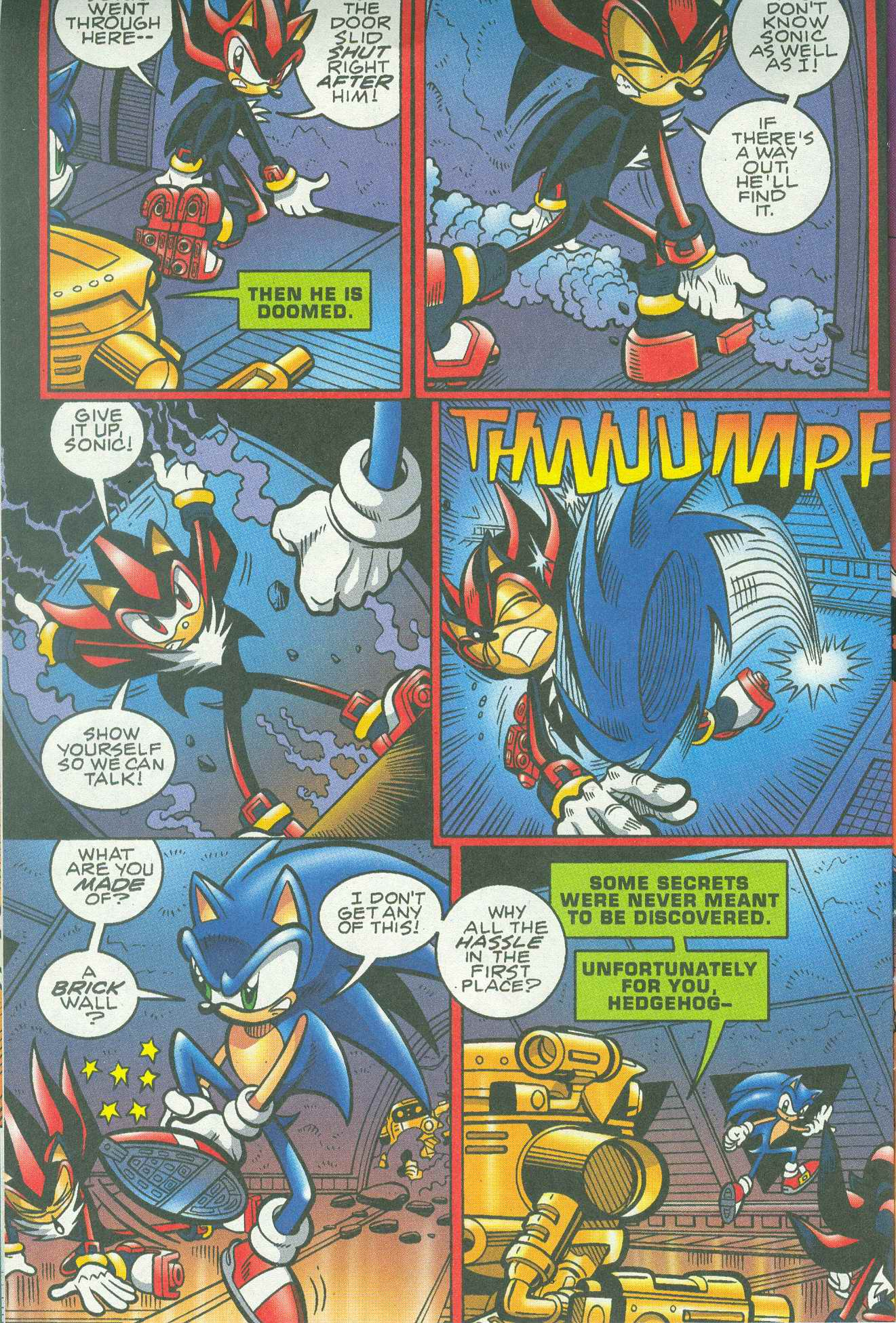 Sonic - Archie Adventure Series June 2005 Page 11