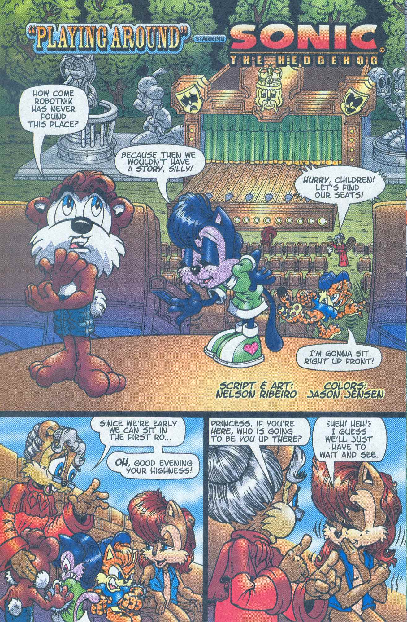 Sonic - Archie Adventure Series June 2005 Page 13