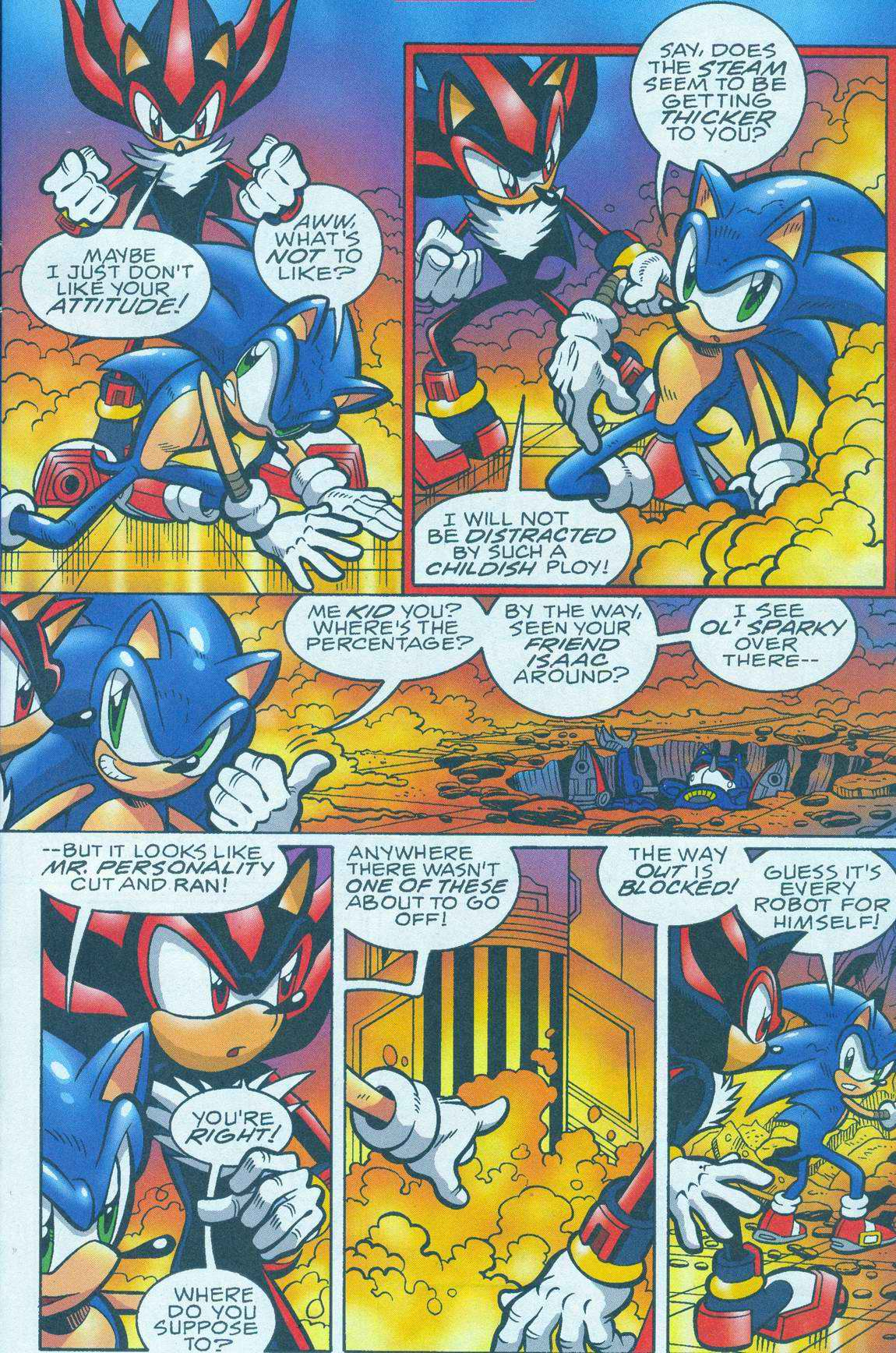 Sonic - Archie Adventure Series July 2005 Page 8