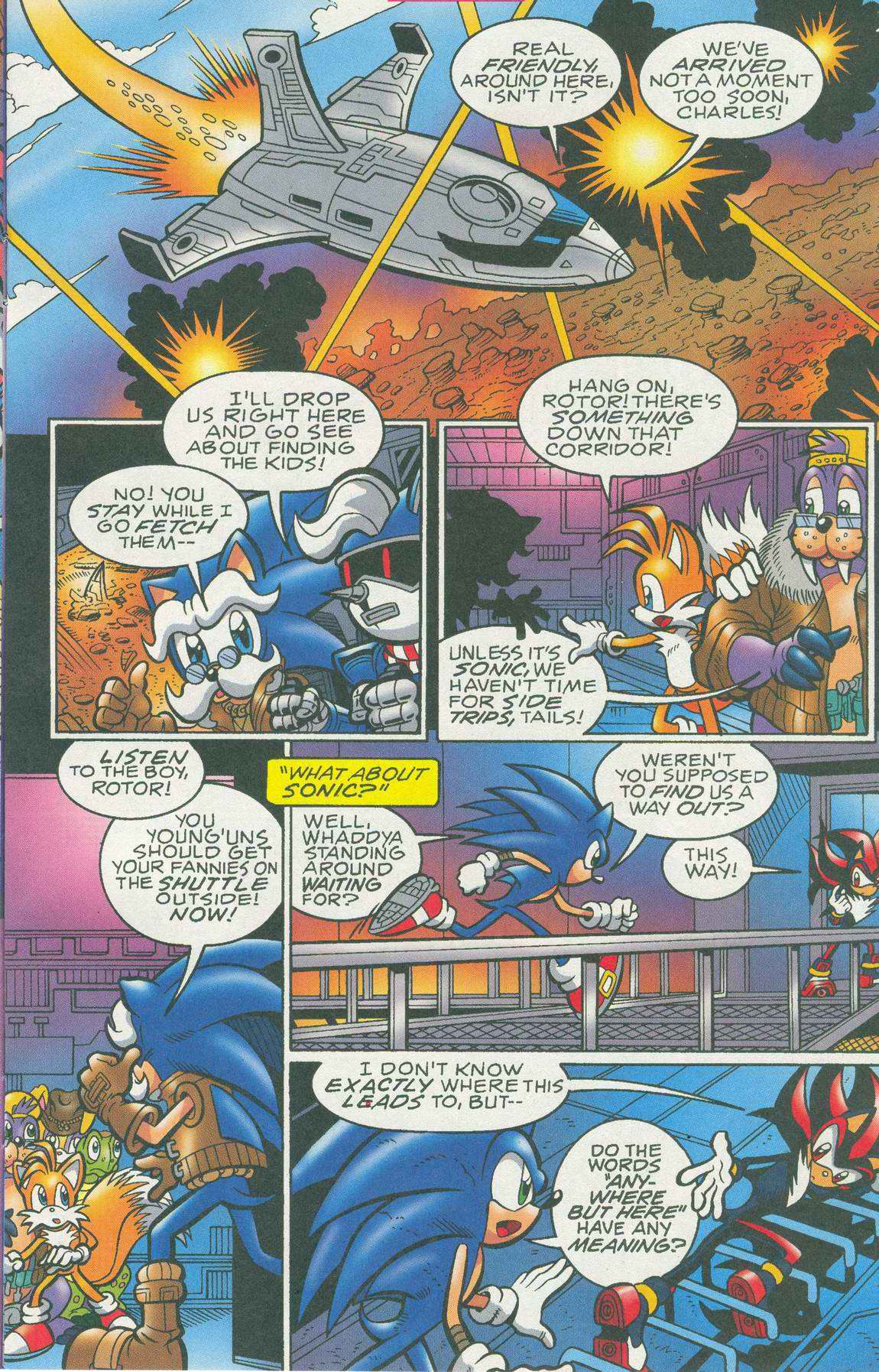 Sonic - Archie Adventure Series July 2005 Page 10