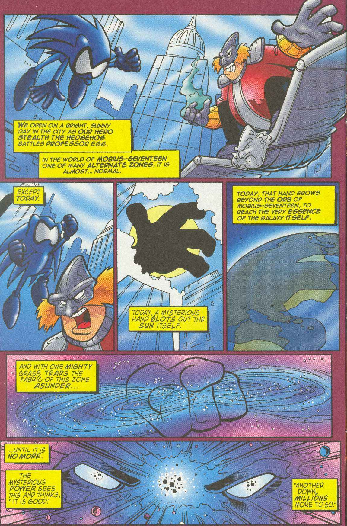 Sonic - Archie Adventure Series July 2005 Page 13