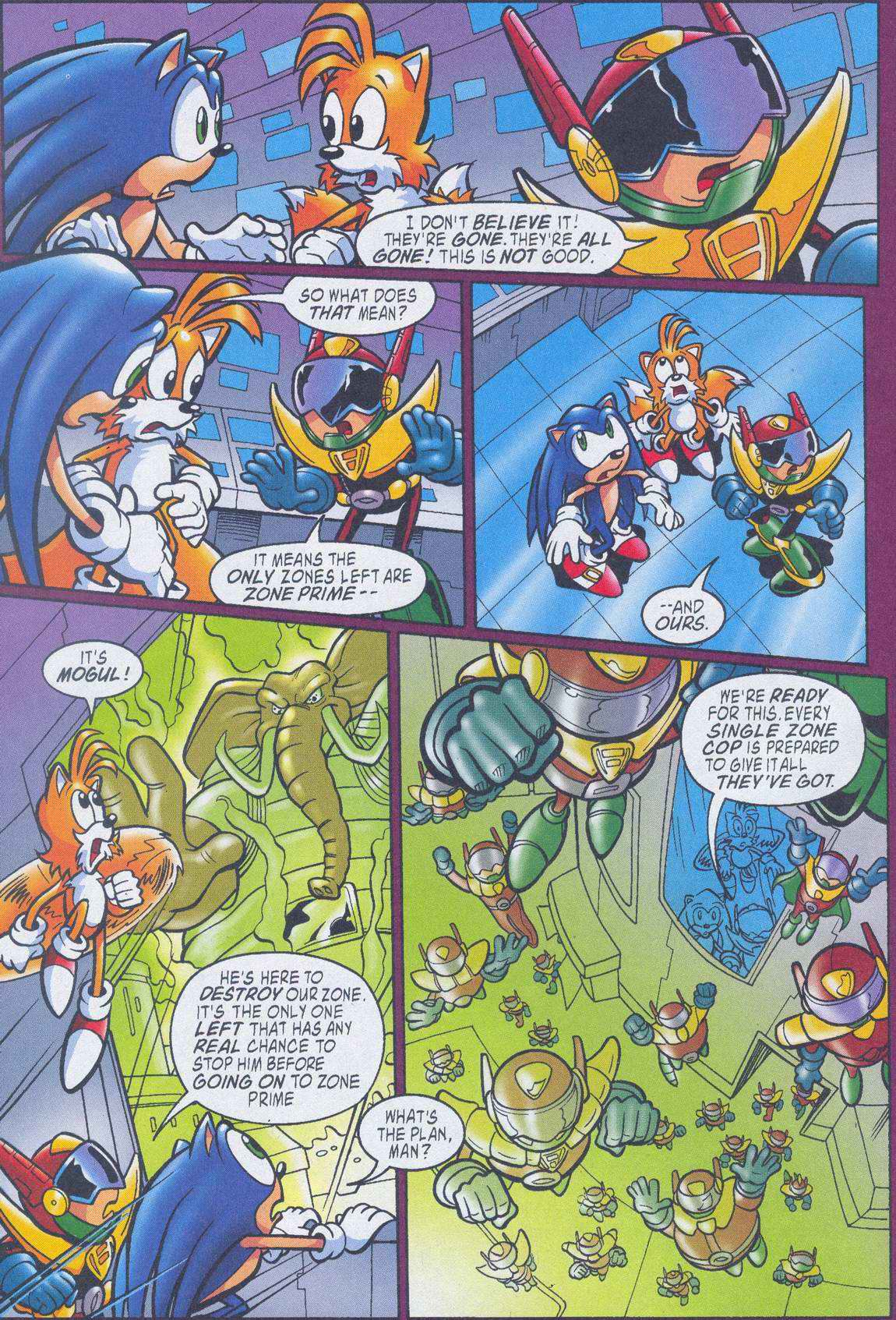 Sonic - Archie Adventure Series July 2005 Page 20