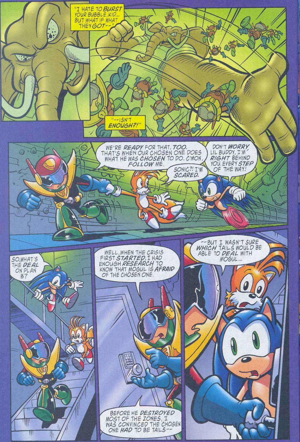 Sonic - Archie Adventure Series July 2005 Page 21