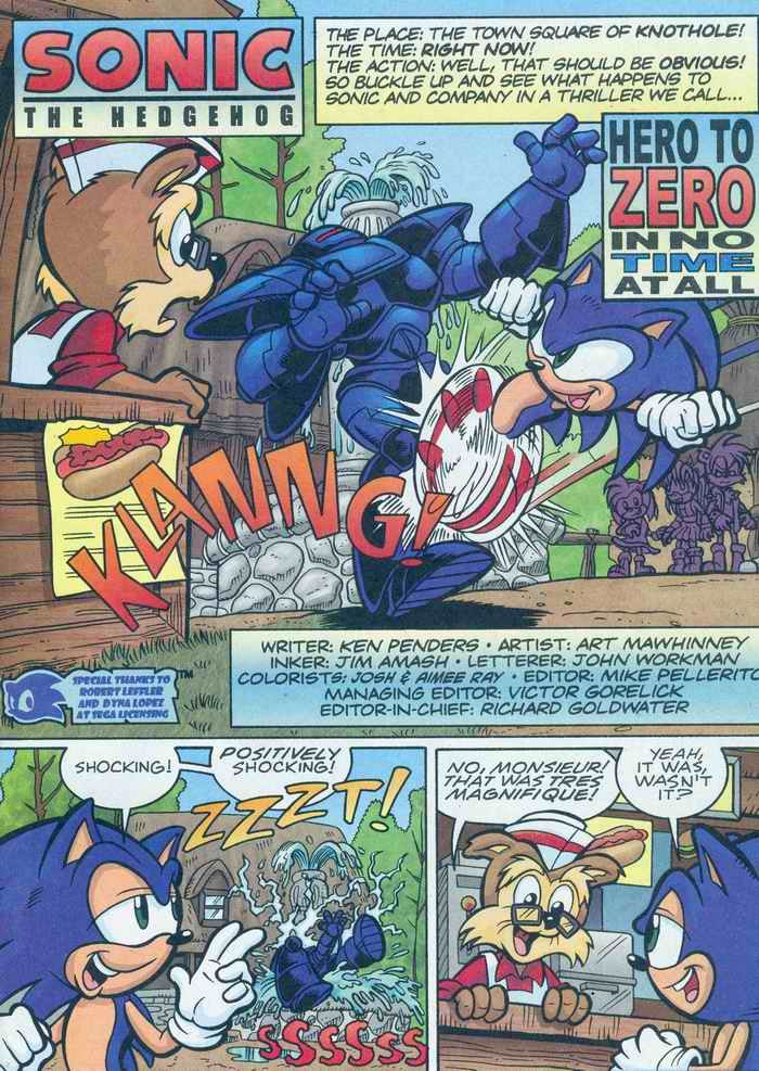 Sonic - Archie Adventure Series August 2005 Page 1