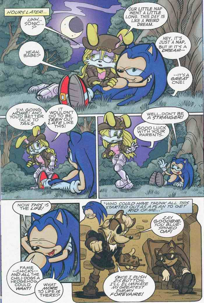 Sonic - Archie Adventure Series August 2005 Page 7
