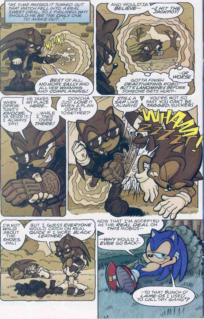 Sonic - Archie Adventure Series August 2005 Page 9