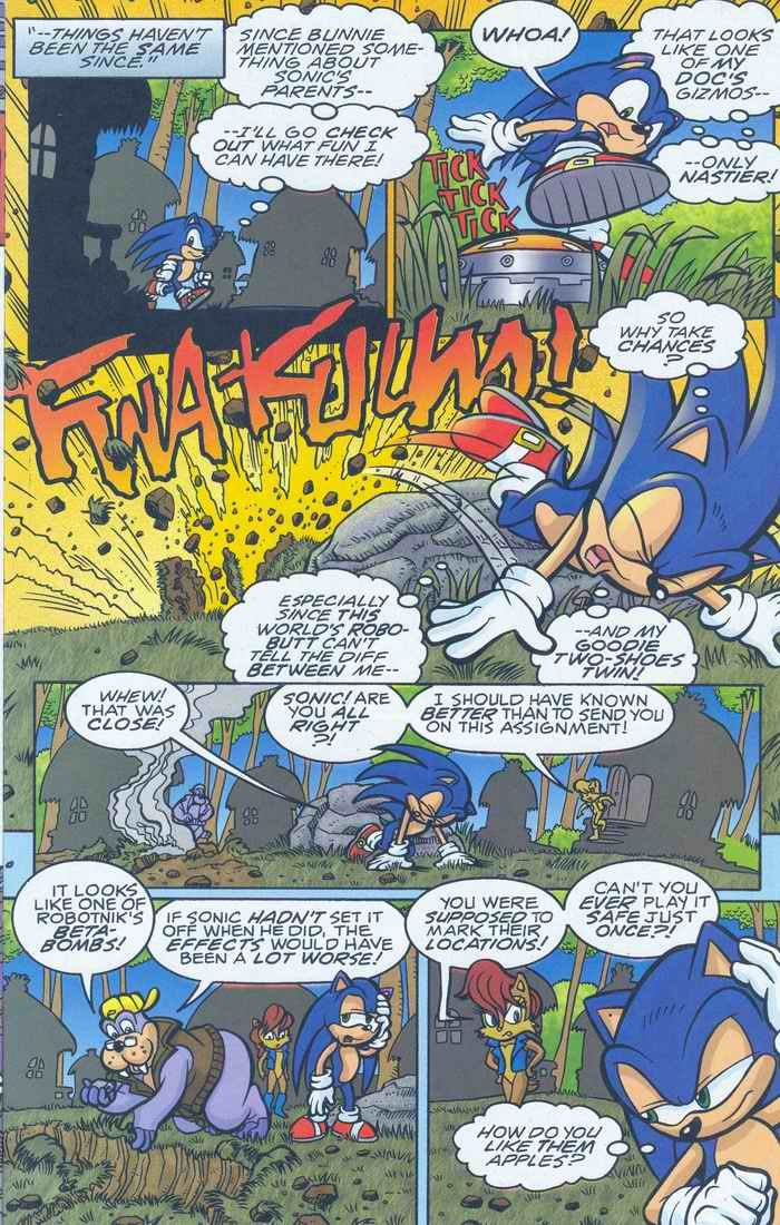 Sonic - Archie Adventure Series August 2005 Page 11