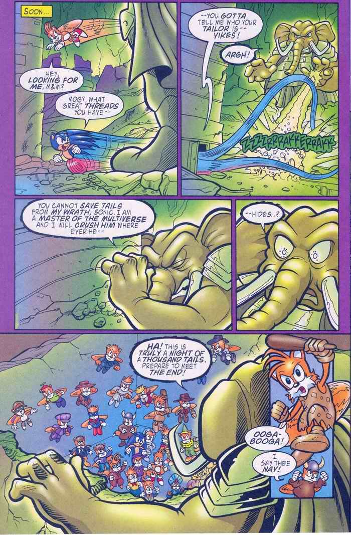 Sonic - Archie Adventure Series August 2005 Page 18