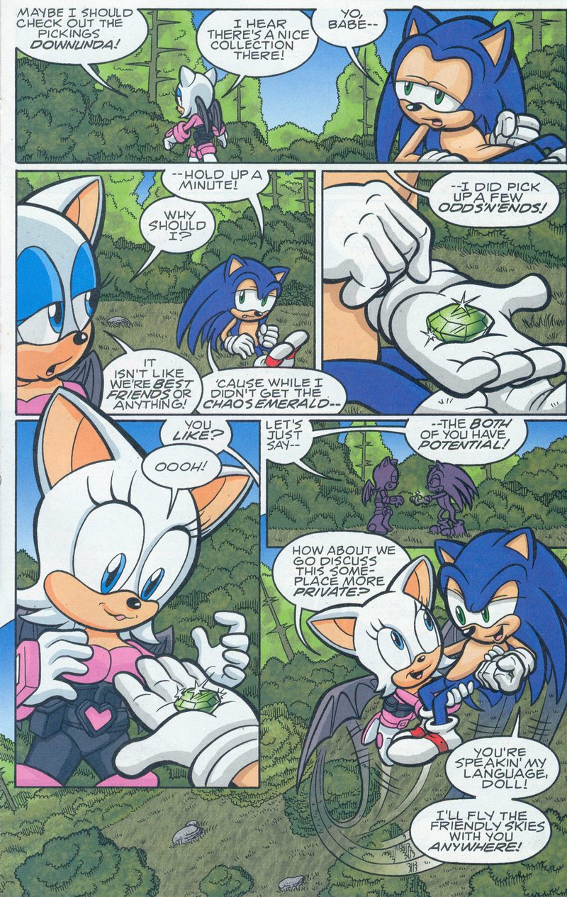 Sonic - Archie Adventure Series September 2005 Page 14