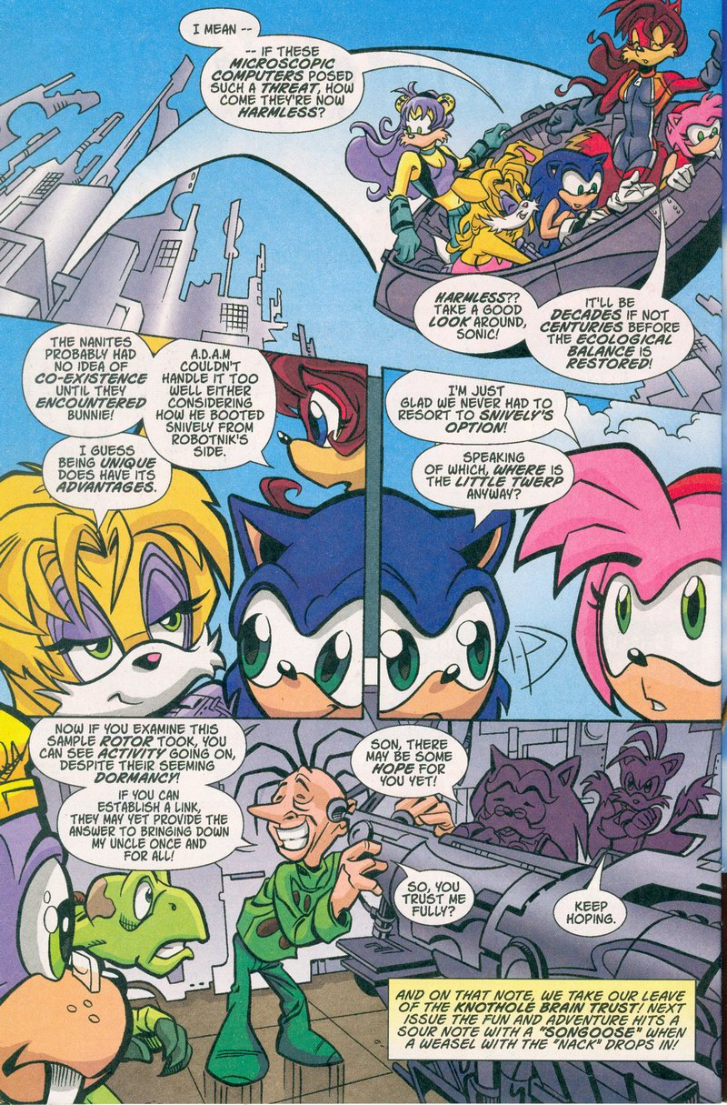 Sonic - Archie Adventure Series October 2005 Page 22