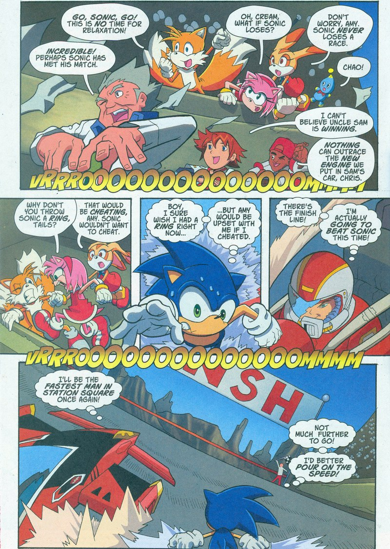 Sonic X - October 2005 Page 02